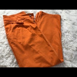 Dresses & Skirts - Orange Maxi Skirt